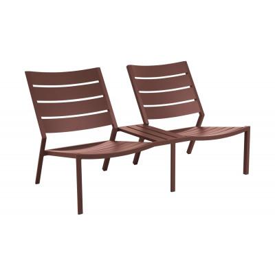 Sofa Zweisitzer Delia | Rot