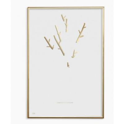 Poster 20 x 30 cm Noga Gasko 24k Gold-Baum 001