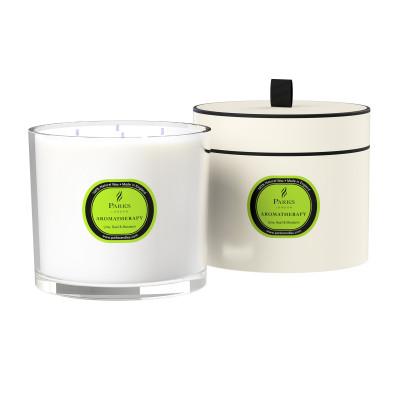 Duftkerze Limette, Basilikum & Mandarine