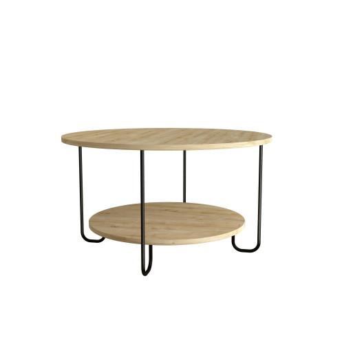 Coffee Table Corro   Light Wood