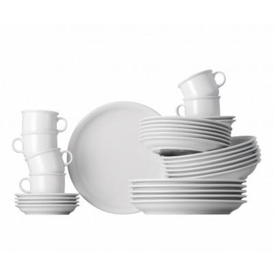 Essgeschirr Set 30-teilig Trend | Weiß