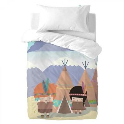 Duvet Cover 100 x 120 cm & Pillow 50 x 30 cm   Indian Night