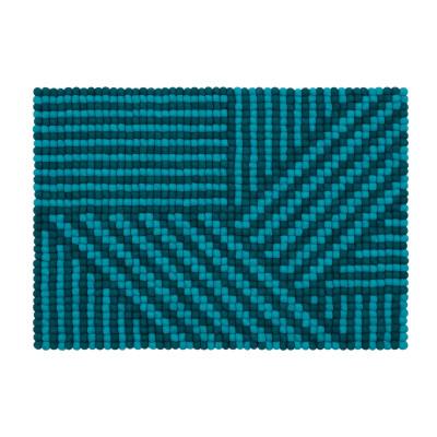Teppich Weave Felt Ball 70 x 100 cm