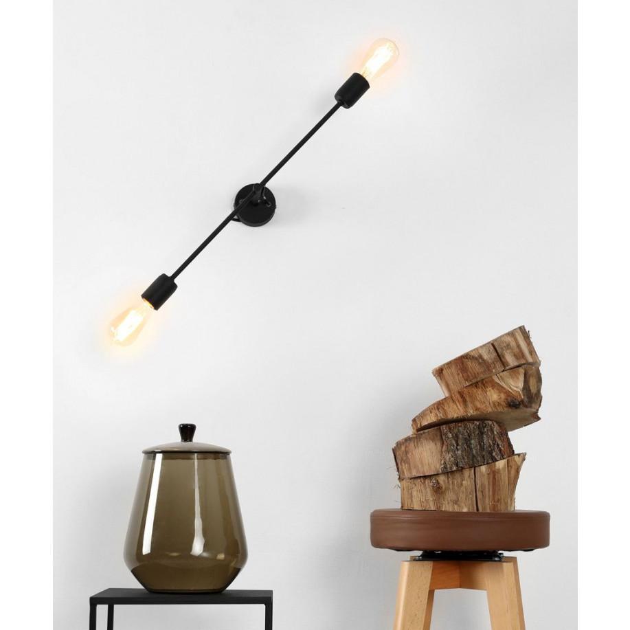 Wall Lamp Twigo 2 S   Black