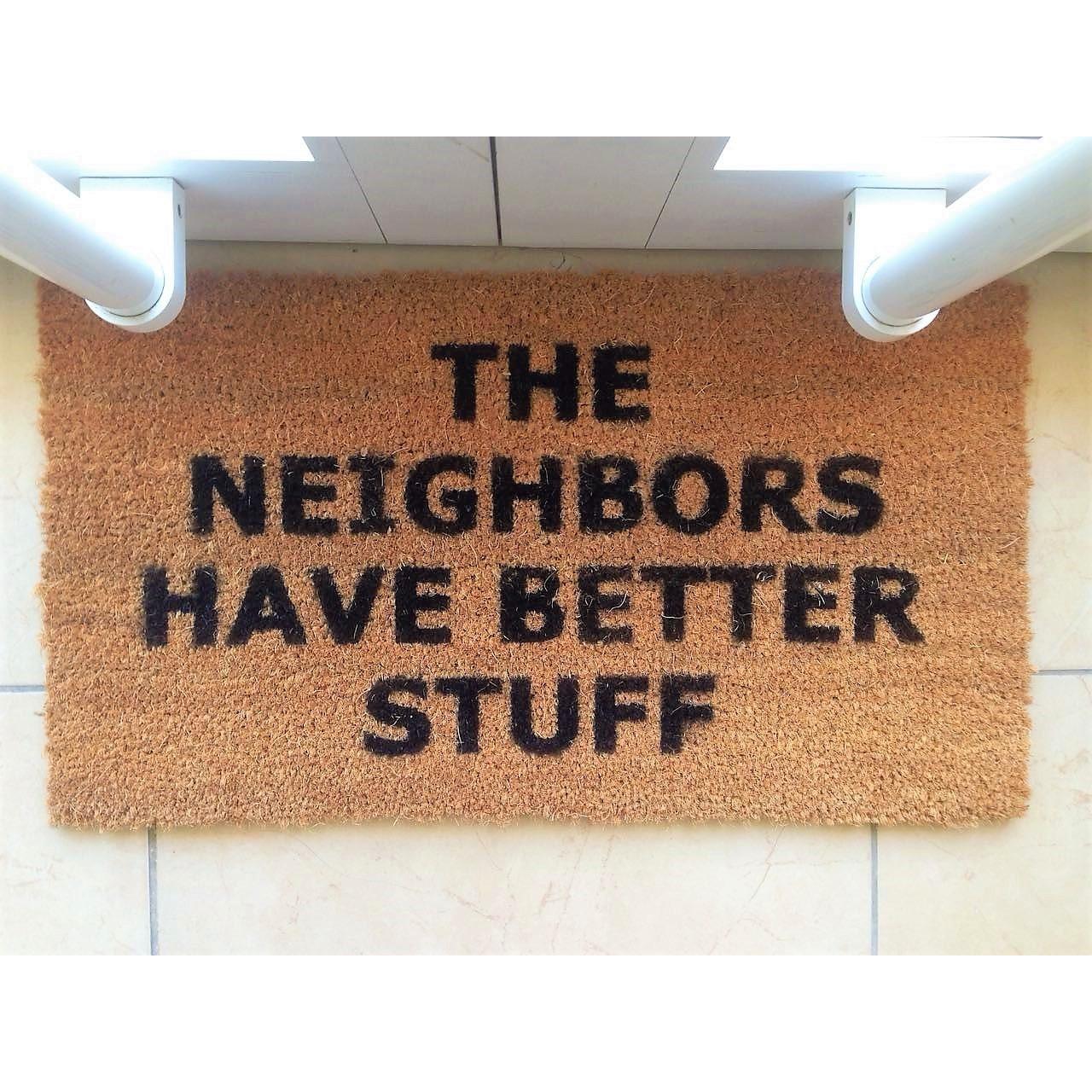 Fußmatte Neighbours | Braun