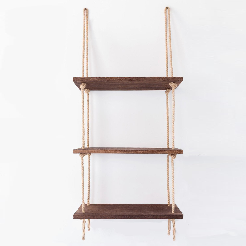 Wall Shelf / Ladder | Walnut