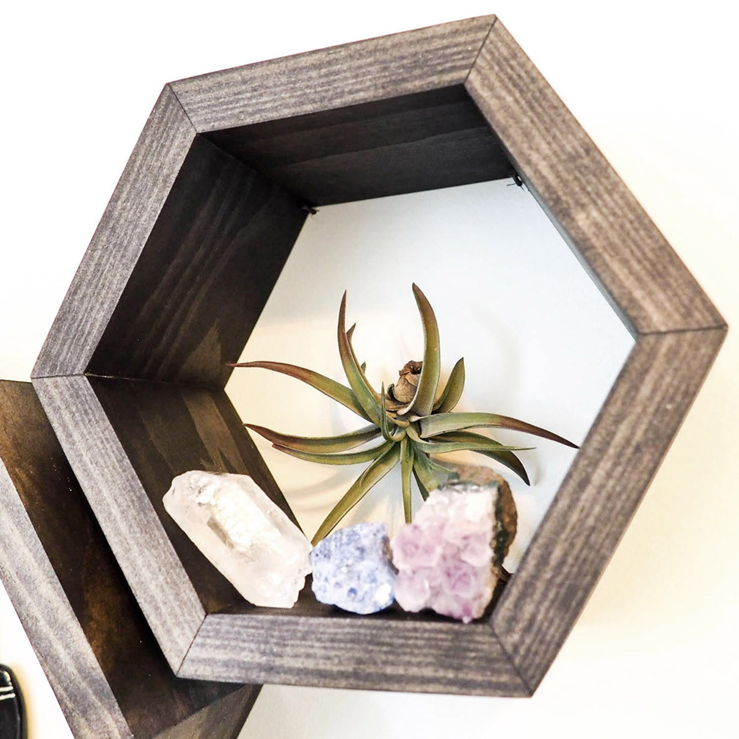 Set of 3 Wall Shelves | Spruce Wood