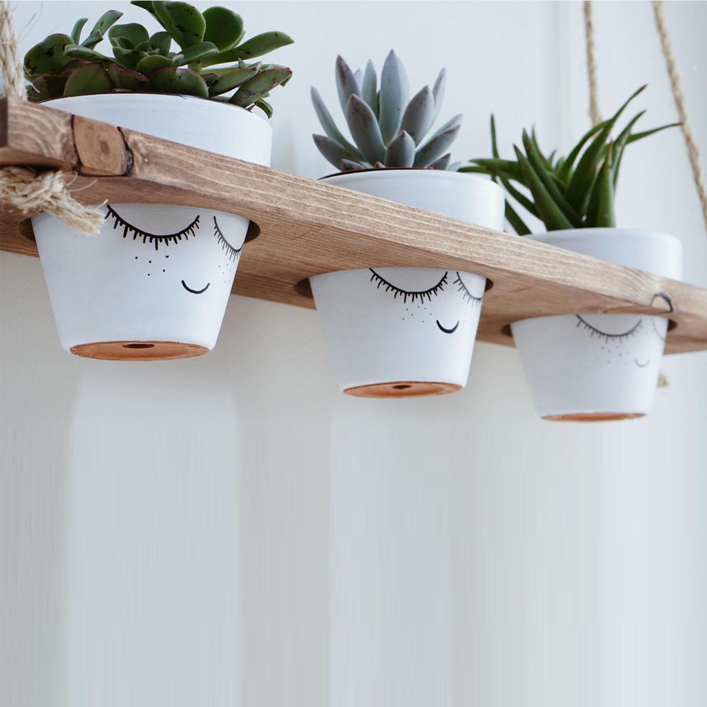 Wall Shelf / Plant Holder | Spruce Wood