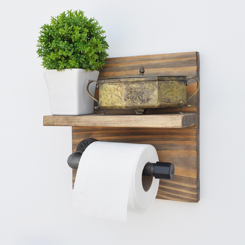 Toilet Roll Holder | Pipe