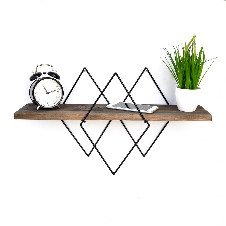 Wall Shelf Wire | Walnut
