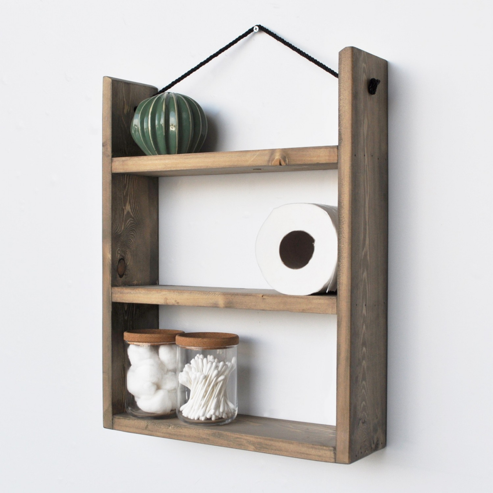 Wall Shelf Aa029 | Walnut