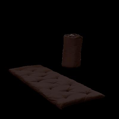Bett in einer Tasche | Braun