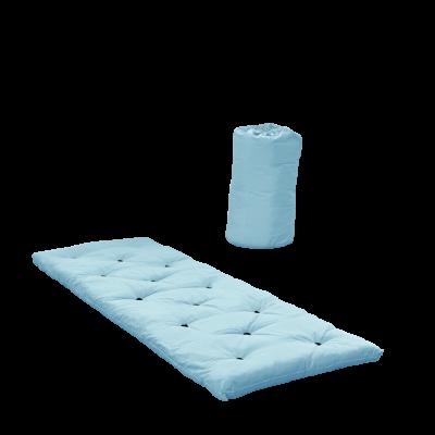 Bett in einer Tasche | Hellblau