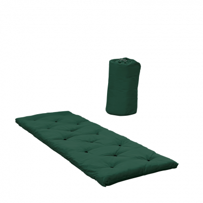 Bett in einer Tasche | Waldgrün