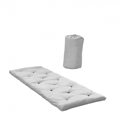 Bett in einer Tasche | Hellgrau