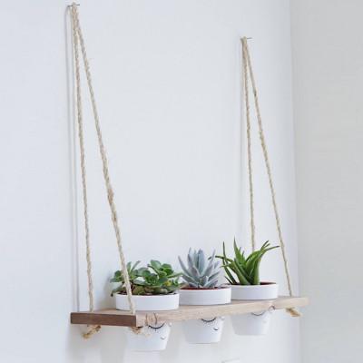 Wandregal / Pflanzenhalter | Fichtenholz