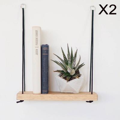 2-er Set Wandregale | Nussbaum