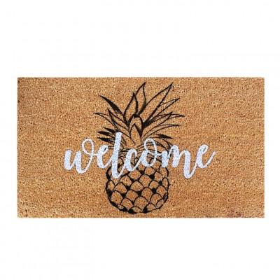 Fußmatte Pineapple   Braun