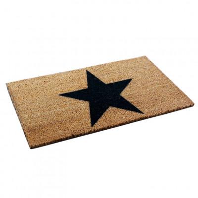 Fußmatte Star   Braun