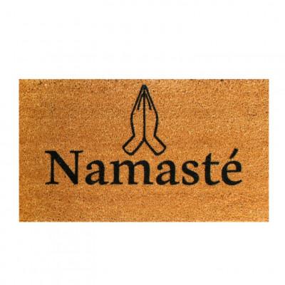 Fußmatte Namaste   Braun