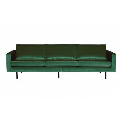 3 Seater Sofa Rodeo Velvet | Forest Green