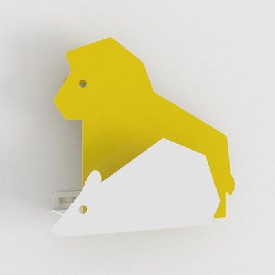 Mantelwirbel Der Löwe & die Ratte