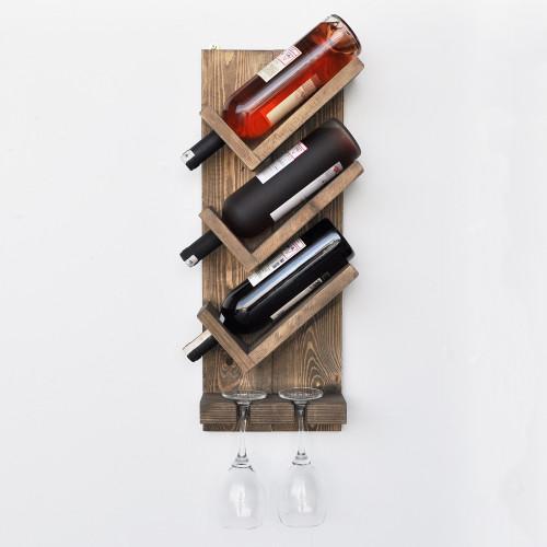 Wine Rack | 3 Bottles