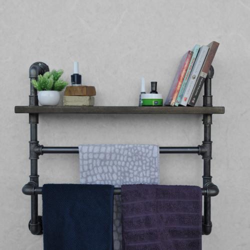 Pipe Shelf | Black