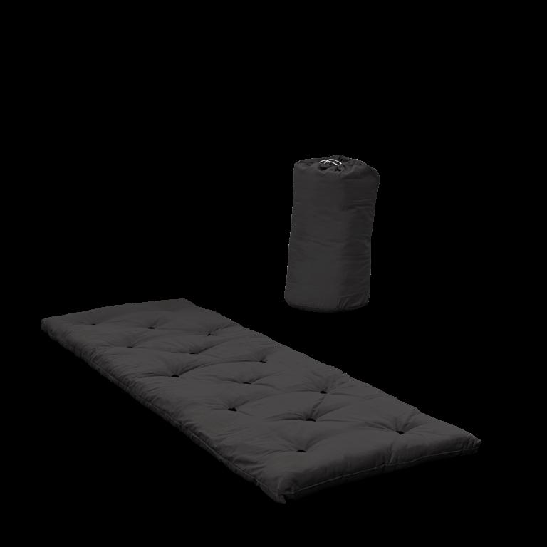 Bett in einer Tasche | Dunkelgrau