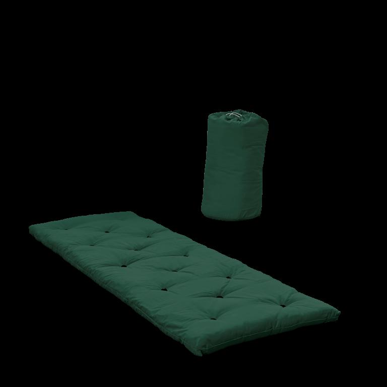 Bett in einer Tasche   Waldgrün