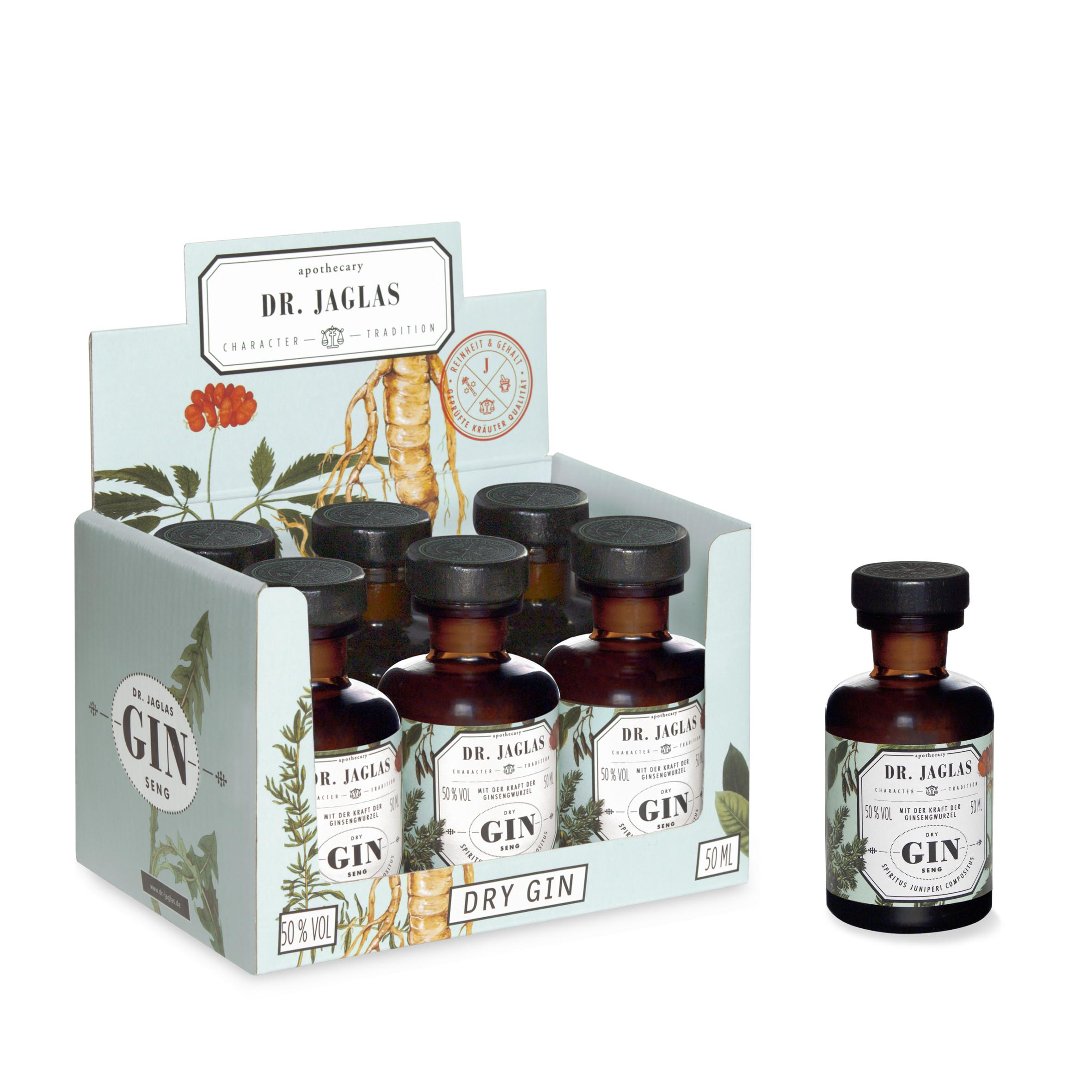 Trockener Ginseng-Elixier | 6 x 50 ml | 50% vol
