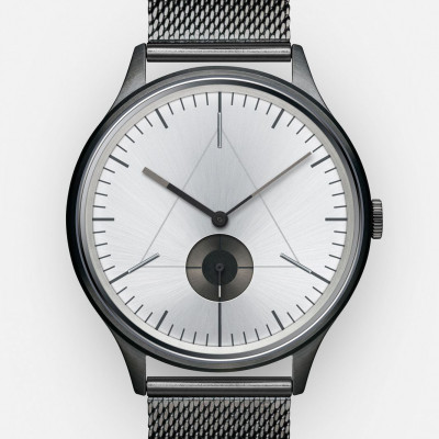 The Architect Analog Watch   PVD Gunmetal, Stainless Steel Strap