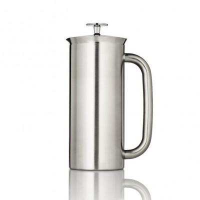 French Press mit Kaffeefilter P7 | Edelstahl