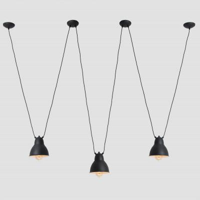 Pendant Lamp Adjustable Coben Hangman 3 | Black