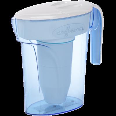 7-Tassenkanne mit Ready-Pour™ System | Blau & Weiß