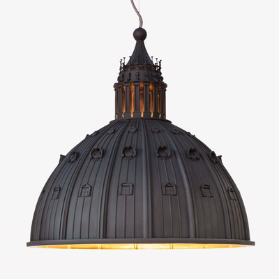 Ceiling Lamp Cupolone  Small | Grey Resin