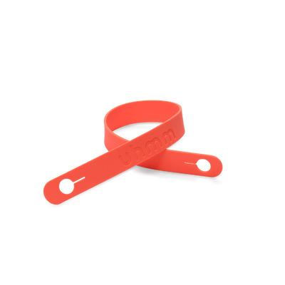 Silikonband Uhmm Box | Korallenrot-No. 01