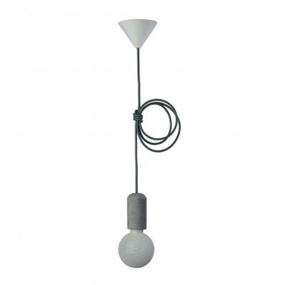 Concrete Pendant Lamp | Dark Grey