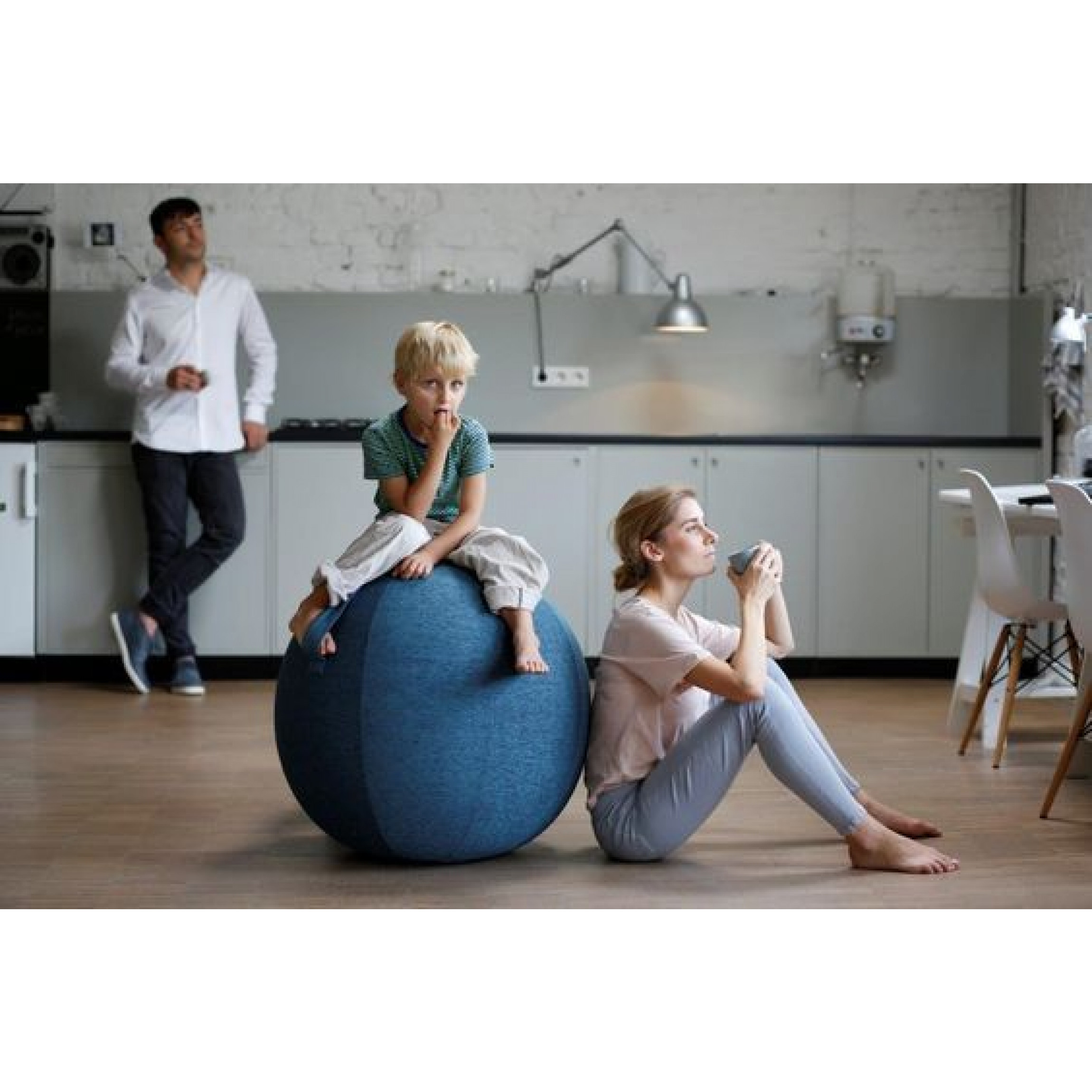 VLUV LEIV Sitzball | Stein