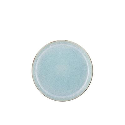 6er-Set Teller Gastro   Grau/Hellblau 21 cm