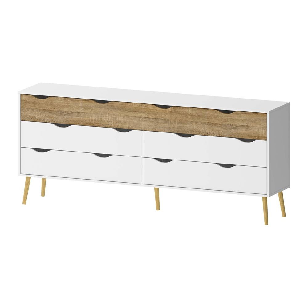 Chest of Drawers | 8 Drawers | White