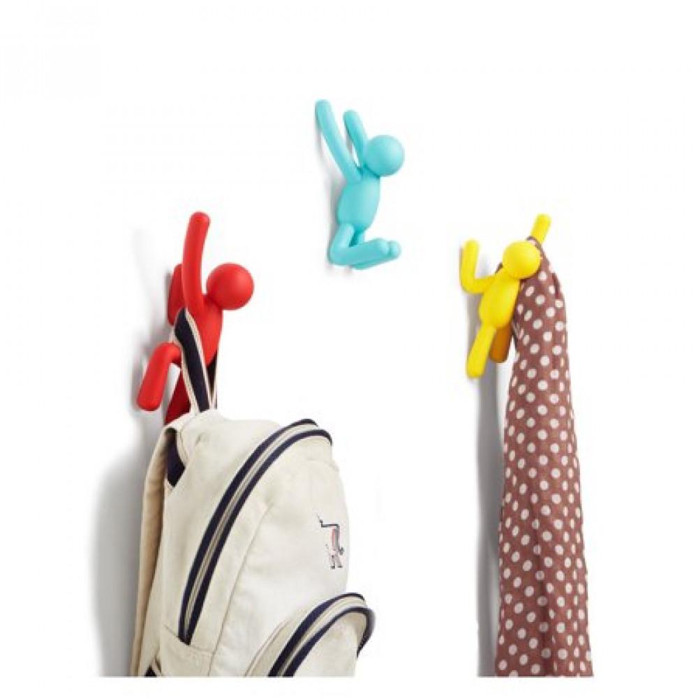 Hooks Buddy | Set of 3 | Assorted Colour