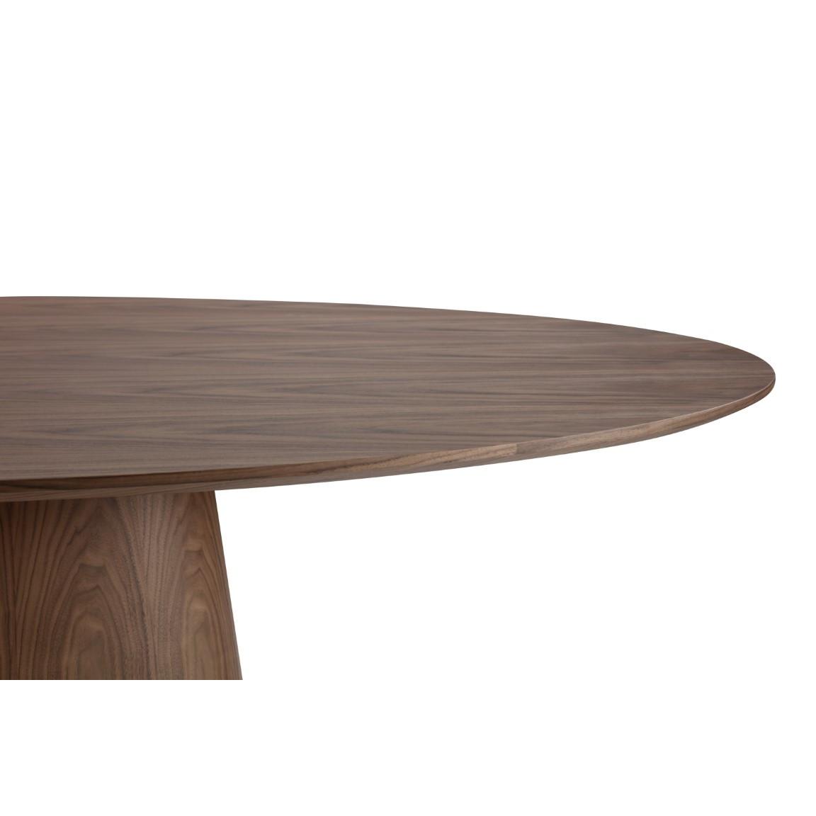 Esszimmertisch Alcamo 220 cm | Walnuss Dunkel