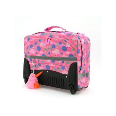 Satchel on Wheels   Pink 2