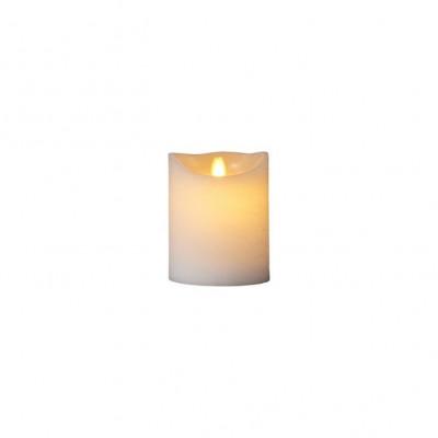 LED-Kerze Sara Spa Exclusive H 12,5 cm | Weiß