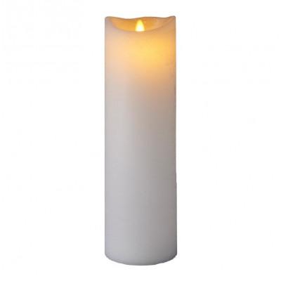 LED-Kerze Sara Spa Exclusive H 40 cm | Weiß