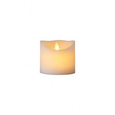 LED-Kerze Sara Spa Exclusive H 10,5 cm | Weiß