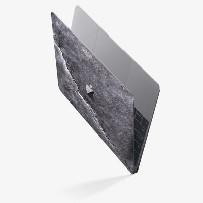 Slate Macbook Skin   Black Impact