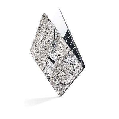 Slate Macbook Skin   Silver Grey
