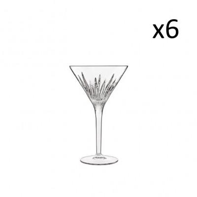 Satz von 6 Coupes Martini